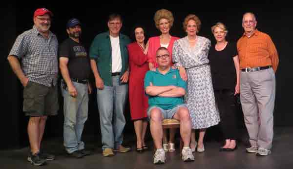 Cast and Crew of Tea For Three
